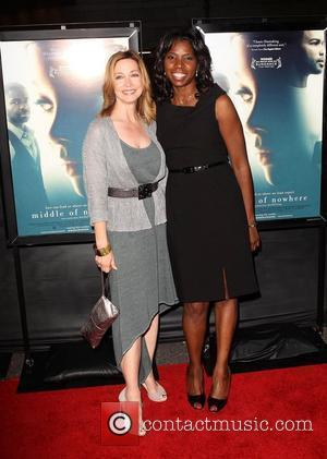 Sharon Lawrence, Nicki Micheaux 2012 Film Festival - Middle Of Nowhere Premiere held at Regal Cinemas L.A. Live Los Angeles,...