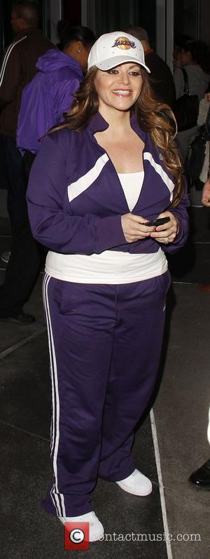 Jenni Rivera arrives at the Staples Center for the Los Angeles Lakers v Dallas game Los Angeles, California - 16.01.12