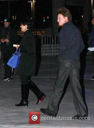 Kris Jenner, Bruce Jenner and Staples Center