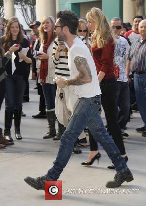 Adam Levine and Staples Center