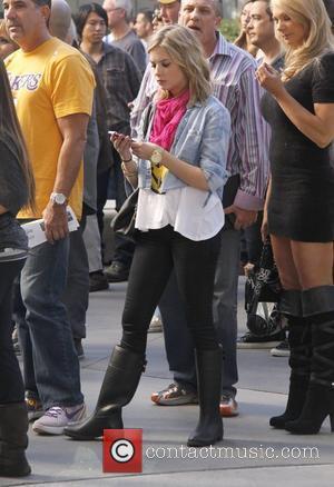 Ashley Benson and Staples Center
