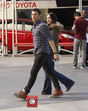 Brian Austin Green, Megan Fox and Staples Center