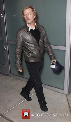 David Spade Celebrities arrive at the Staples Center to watch the LA Lakers game  Featuring: David Spade Where: Los...