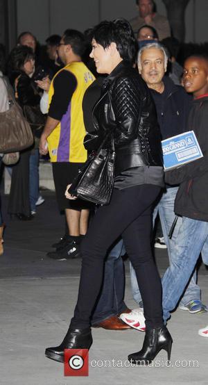 Kris Jenner and Staples Center