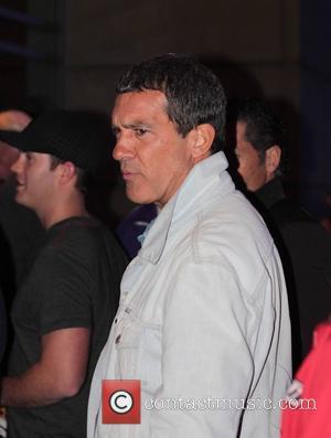 Antonio Banderas and Staples Center