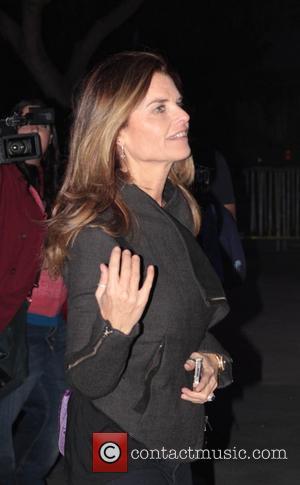 Maria Shriver and Staples Center