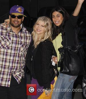 Fergie and Staples Centre
