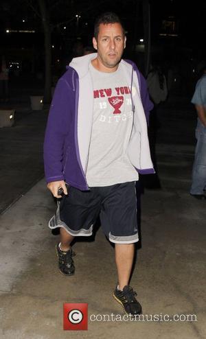 Adam Sandler and Staples Center