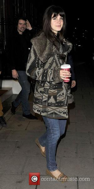 Lana Del Rey outside her hotel. London, England - 13.11.12