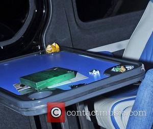 Lana Del Rey leaves Camden Roundhouse after performing at her iTunes gig. She left sweet wrappers, a banana skin and...