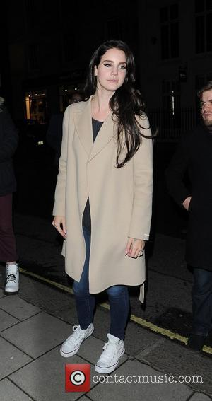 Lana Del Rey arriving at her hotel after appearing on BBC's 'Later... with Jools Holland' show. London, England - 27.11.12