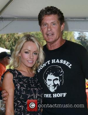 David Hasselhoff, Hayley Roberts Celebrity Golf Tournament to benefit Los Angeles Police Memorial Foundation Held at Rancho Park Golf Course...