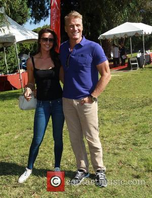 Jenny Sandersson, Dolph Lundgren Celebrity Golf Tournament to benefit Los Angeles Police Memorial Foundation Held at Rancho Park Golf Course...