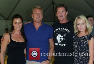 Jenny Sandersson, Dolph Lundgren, David Hasselhoff, Hayley Roberts Celebrity Golf Tournament to benefit Los Angeles Police Memorial Foundation Held at...