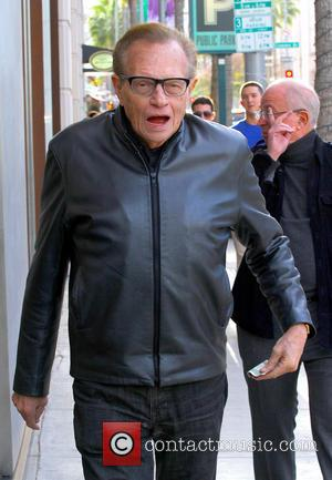 Larry King Larry King spotted out on Brighton Way in Beverly Hills  Featuring: Larry King Where: Beverly Hills, California...
