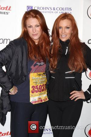 Angie Everhart, Angelica Bridges  Zappos.com Rock N Roll Las Vegas Marathon at Mandalay Bay Hotel and Casino...