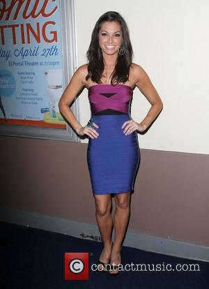Melissa Rycroft The Clorox Lounge 'Last Comic Sitting' 2012 contest held at El Portal Theatre - Arrivals Hollywood, California -...