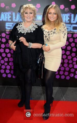 Adele King and daughter Naomi King The 50th Anniversary of 'The Late Late Show' at RTE Studios Dublin, Ireland -...