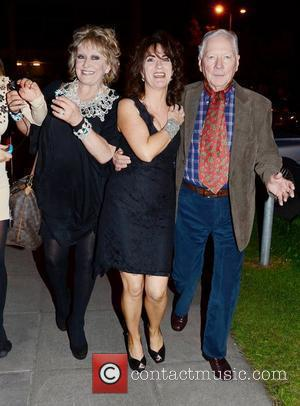 Adele King, Ursula Fanning, Gay Byrne The 50th Anniversary of 'The Late Late Show' at RTE Studios Dublin, Ireland -...
