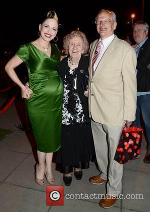Imelda May and parents The 50th Anniversary of 'The Late Late Show' at RTE Studios Dublin, Ireland - 01.06.12