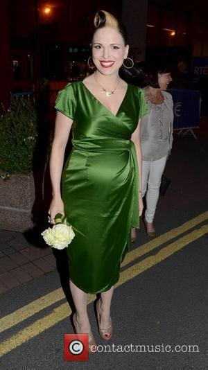 Imelda May  The 50th Anniversary of 'The Late Late Show' at RTE Studios Dublin, Ireland - 01.06.12