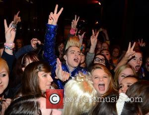 Jedward Celebrities outside the RTE Studios for 'The Late Late Show' Dublin, Ireland - 11.05.12