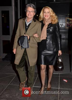 Jerry Hall Celebrities outside the RTE Studios for 'The Late Late Show' Dublin, Ireland - 11.05.12