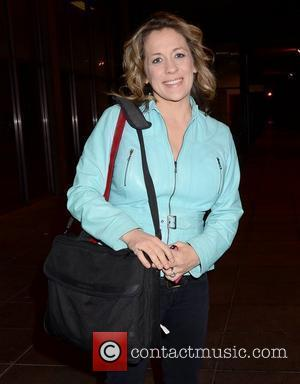 Sarah Beeny Celebrities outside the RTE studios for 'The Late Late Show' Dublin, Ireland - 16.12.11