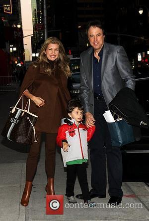 Susan Yeagley, Kevin Nealon and their son Gable Nealon 'The Late Show with David Letterman' at the Ed Sullivan Theater...