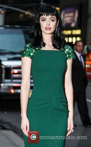 Krysten Ritter Given Wolf Urine By James Van Der Beek