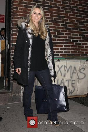 Lindsey Vonn 'The Late Show with David Letterman' at the Ed Sullivan Theater - Departures New York City, USA -...