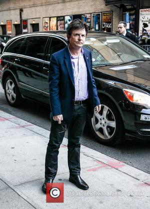 Michael J. Fox Celebrities at the Ed Sullivan Theater for 'The Late Show with David Letterman'  Featuring: Michael J....