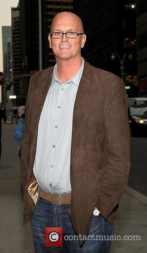 Sportscaster Scott Van Pelt at the Ed Sullivan Theater for the 'Late Show With David Letterman'. New York City, USA...