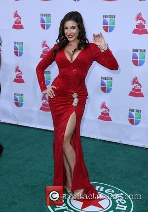 Mayra Veronica 13th Annual Latin Grammy Awards held at the Mandalay Bay Resort and Casino - Arrivals Las Vegas, Nevada...