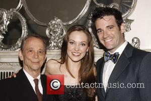 Joel Grey and Laura Osnes