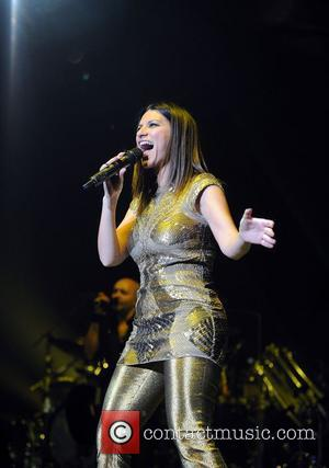 Italian singer Laura Pausini performing in concert at the Heineken Music Hall. Amsterdam, the Netherlands - 19.05.12
