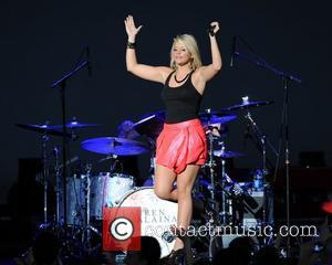 Lauren Alaina  performing live during the 'In your Hands' tour at the Cruzan Amphitheater West Palm Beach, Florida -...
