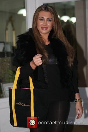 Lauren Goodger at Tatiana Hair Extensions salon in London London, England - 13.11.12