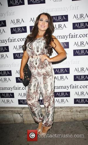 Lauren Goodger and Aura Nightclub