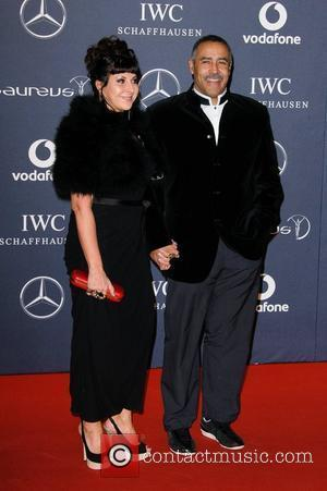 Daley Thompson Laureus Sport Awards held at the Queen Elizabeth II Centre - Arrival. London, England - 06.02.12