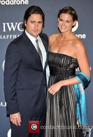 Luke Wilson and guest Laureus Sport Awards held at the Queen Elizabeth II Centre - Arrival. London, England - 06.02.12