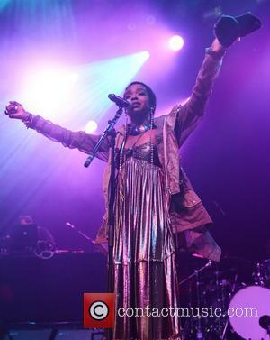 Lauryn Hill performs live at the IndigO2 inside the O2 Arena London, England - 14.04.12