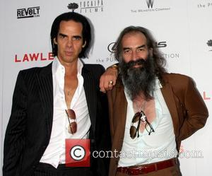 Nick Cave and Warren Ellis  The premiere of 'Lawless' at ArcLight Cinemas Hollywood, California - 22.08.12