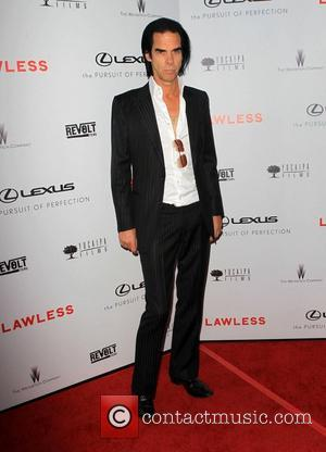 Nick Cave  The premiere of 'Lawless' at ArcLight Cinemas Hollywood, California - 22.08.12