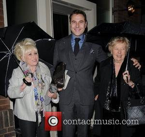 Barbara Windsor and David Walliams