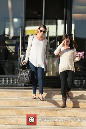 'Glee' star Lea Michelle leaves Barney's New York after shopping with a friend Los Angeles, California - 04.02.12