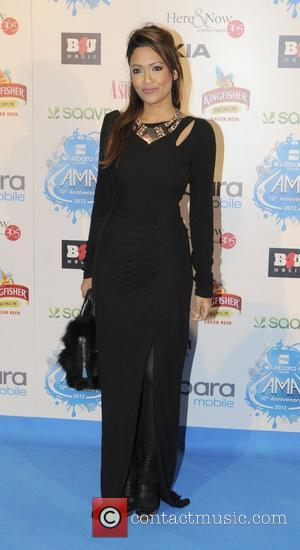 Lucy Verasamy Lebara Mobile Asian Music Awards held at Wembley Arena - Arrivals London, England - 25.10.12