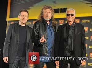 Robert Plant, Jimmy Page and John Paul Jones