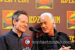 John Paul Jones, Jimmy Page, Led Zeppelin, Celebration Day, Press Conference and New York City