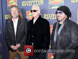 Robert Plant, Jimmy Page, John Paul Jones and Jason Bonham